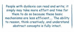 Understanding Dyslexia And Reading >> Learning To Learn Yale Dyslexia