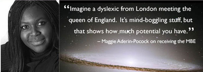 Understanding Dyslexia The Yale Center For Dyslexia Creativity >> Maggie Aderin Pocock Ph D Space Scientist Science Communicator