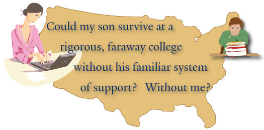 Mother Worry Academic Support Away From Home Yale Dyslexia